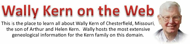 Click here to visit Wally Kern on the Web